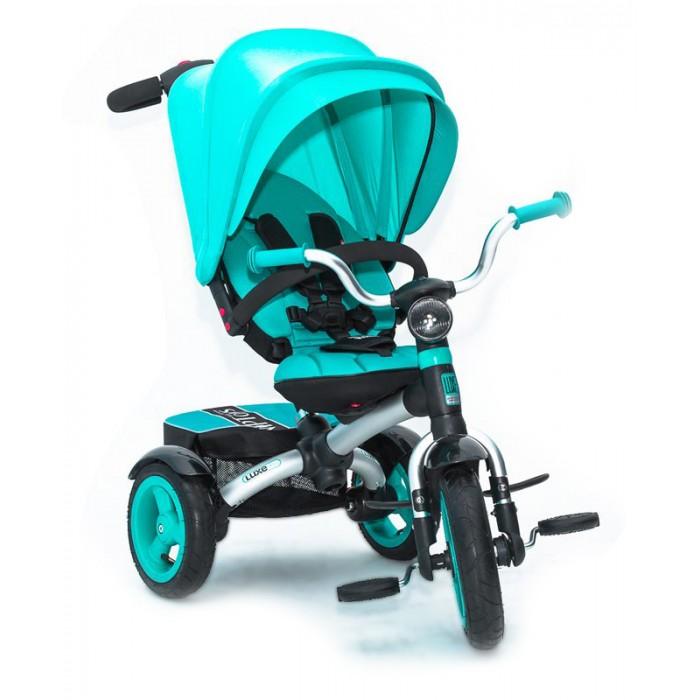 Велосипед трехколесный Lexus Vip Toys Icon 6 Yoxo Luxe AluminiumVip Toys Icon 6 Yoxo Luxe AluminiumLexus Vip Toys Icon Yoxo V6 Luxe Aluminium станет замечательным подарком как для мамы, так и для малыша. Легкая и прочная рама гарантируем простоту управления, а регулируемая спинка позволит использовать модель в качестве коляски для малыша от 8-ми месяцев. Большой и глубокий капюшон с защитой от УФ станет незаменим в теплое время года, а комфортное сиденье позволит ребенку наслаждаться прогулкой и не испытывать дискомфорта.   Не забыла команда Vip Toys и о безопасности - 5-ти точечные ремни с мягкими накладками, прочный бампер и тормоза на задних колесах станут залогом безопасной прогулки.  Характеристики: можно использовать для детей от 8 месяцев с легкостью заменит летнюю прогулочную коляску сиденье регулируется вперед-назад в 5-ти положениях алюминиевая легкая рама телескопическая родительская ручка подножки-крылья для переднем колесе надувные колеса большое сиденье съемный капюшон с УФ-защитой регулируемая до положения «полулежа» спинка 5-ти точечные ремни с мягкими накладками регулируются по высоте 2 ножных тормоза на задние колеса функция - «свободное колесо» складные подножки на переднем колесе прочный бампер съемный чехол сиденья LED фара  Размеры велосипеда (дхшхв):                     93х57х105 см Размеры сиденья (шхгхв):  30х20х45 см Высота родительской ручки:  83-110 см Диаметр колес (передние/задние):  28/25 см<br>