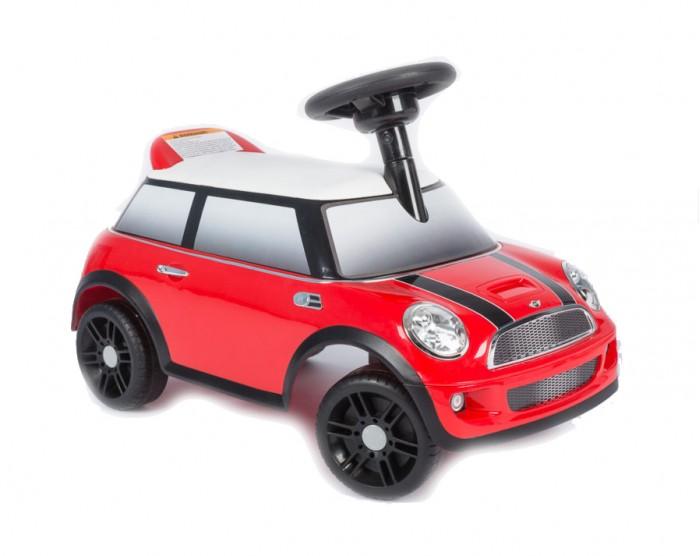 Каталка Vip Toys Mini Cooper ZW450Mini Cooper ZW450Яркая качественная каталка сделана в стиле авто с музыкальным рулем. Удобный широкий спойлер-спинка. Вращаемый руль регулирует направление движения машинки поворотом передних колес. Удобное эргономичное сидение.   Под сидением вместительный багажник для любимых игрушек, которые можно взять с собой на прогулку. Стиль и дизайн гоночной техники придаст игре реальности и добавит незабываемых впечатлений от игры и езды! Максимальная нагрузка- 23 кг. Рекомендуется для детей от 12 месяцев.  Варианты использования: Ходунки. Для самых маленьких, которые только учатся ходить, машинка - незаменимое средство-помощник. Ребенок учится ходить и толкает машинку перед собой, опираясь на спинку каталки. Эта же спинка является опорой, если ребенок сидит на каталке. Каталка. Когда малыш подрастет, он садится на машину и едет самостоятельно, отталкиваясь ножками.  Машинка отлично подойдет для игр дома и на улице. Теперь катание малыша станет неповторимым увлекательным путешествием!  Размер машинки(дхшхв):  60х30х38 см  Вес: 2.5 кг<br>