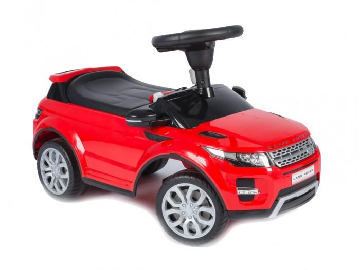Каталка Vip Toys Range Rover 348Range Rover 348Яркая качественная каталка сделана в стиле авто с музыкальным рулем. Удобный широкий спойлер-спинка. Вращаемый руль регулирует направление движения машинки поворотом передних колес. Удобное эргономичное сидение.   Под сидением вместительный багажник для любимых игрушек, которые можно взять с собой на прогулку. Стиль и дизайн гоночной техники придаст игре реальности и добавит незабываемых впечатлений от игры и езды! Максимальная нагрузка- 23 кг. Рекомендуется для детей от 12 месяцев.  Варианты использования: Ходунки. Для самых маленьких, которые только учатся ходить, машинка - незаменимое средство-помощник. Ребенок учится ходить и толкает машинку перед собой, опираясь на спинку каталки. Эта же спинка является опорой, если ребенок сидит на каталке. Каталка. Когда малыш подрастет, он садится на машину и едет самостоятельно, отталкиваясь ножками.  Машинка отлично подойдет для игр дома и на улице. Теперь катание малыша станет неповторимым увлекательным путешествием!  Размер машинки(дхшхв):  67.5х30х30.5 см  Вес: 2.93 кг<br>