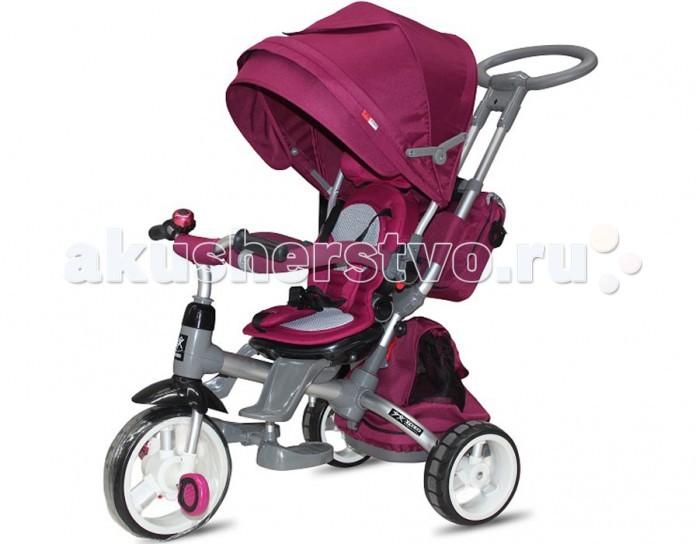 Велосипед трехколесный Vip Toys T-500T-500Этот велосипед исключительно понравиться вашему малышу! Прочный и надежный, на на широких колесах велосипед Vip Toys T-500 станет прекрасным подарком для любого малыша. Оснащенный удобной родительской ручкой, велосипед станет отличным средством передвижения, ведь он имеет легкий козырек от солнца и вместительную корзину для игрушек.   Широкие педали и руль эргономичной формы позволят ребенку самостоятельно и без проблем управлять движением, а если маленькие ножки устанут, мама всегда сможет катить велосипед как коляску. Прочная и надежная рама, комфортное сиденье и 3-х точечные ремни сделают прогулку легкой и приятной.  Характеристики: алюминиевая рама колеса EVA ножной тормоз регулировка детского кресла, от наклона спинки до поворотов в сторону движения телескопическая ручка для родителей с удобной рукояткой мягкий чехол на кресле складной капюшон со смотровым окошком барьер безопасности функция Свободное колесо подножка в виде двух лепестков для маленьких детей складные подножки под сиденьем для подросших детей текстильная багажная корзина и рюкзак функция - свободный руль максимальная нагрузка 30 кг  Размеры (дхшхв):                          76х53х104.5 см Вес:  9.6 кг<br>