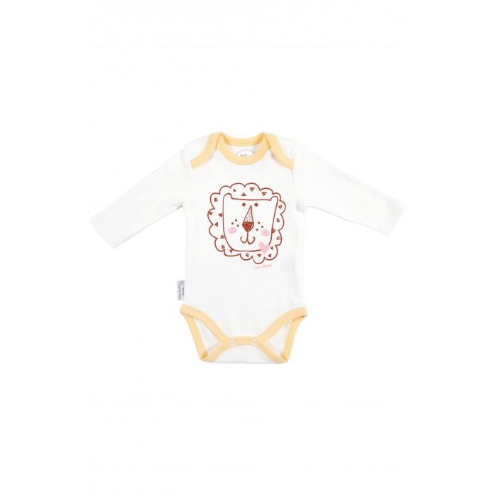Боди и песочники Viva Baby Боди Cute Lion боди детское hudson baby hudson baby боди цыплёнок 3 шт бирюзово розовый