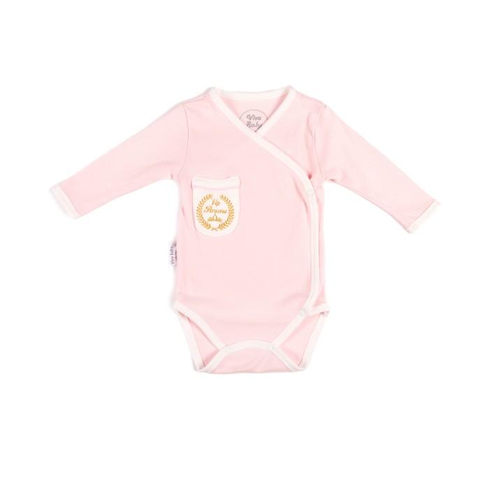 Боди и песочники Viva Baby Боди для девочки Vip Persona боди детское hudson baby hudson baby боди цыплёнок 3 шт бирюзово розовый