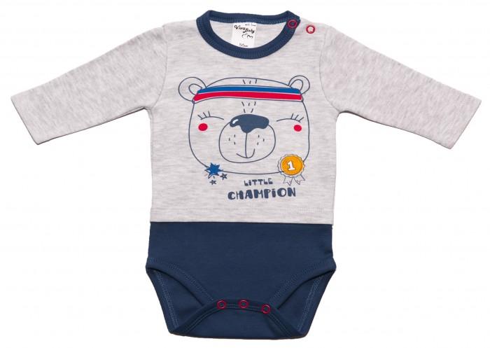 Боди, песочники, комбинезоны Viva Baby Боди для мальчика Champion boys М5501-1