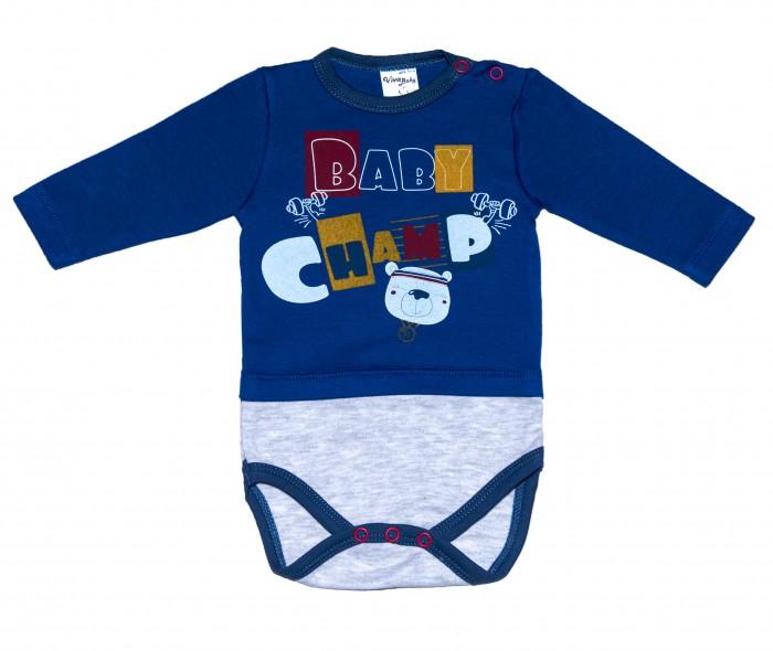 Боди, песочники, комбинезоны Viva Baby Боди для мальчика Champion boys М5501-2
