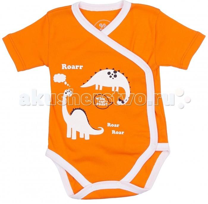 Боди и песочники Viva Baby Боди с коротким рукавом Super Dino комплекты детской одежды viva baby комплект для мальчика кофточка брюки super dino m1202 2