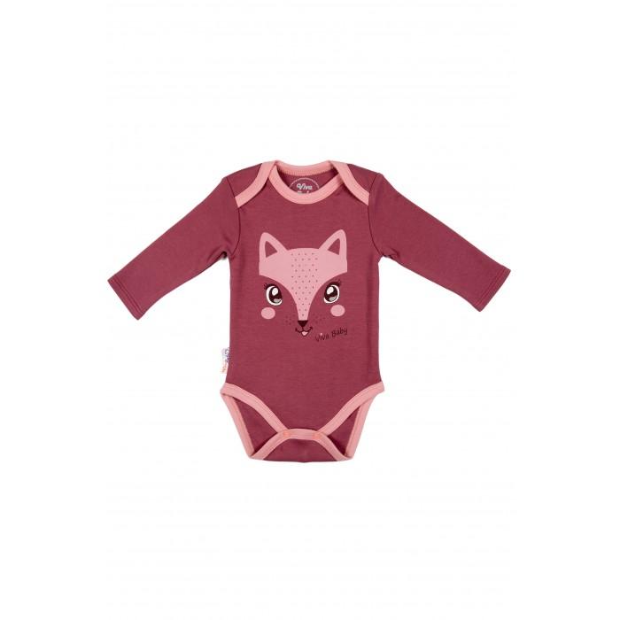 Боди и песочники Viva Baby Боди Sweet Fox боди детское hudson baby hudson baby боди цыплёнок 3 шт бирюзово розовый