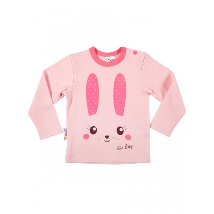 Распашонки и ползунки Viva Baby Кофточка для девочки Cute animals D3102-3