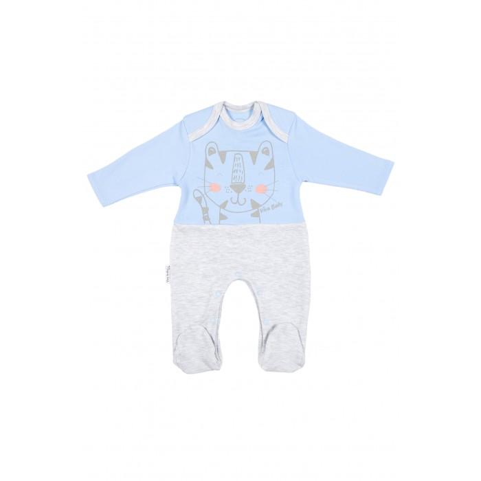 Боди, песочники, комбинезоны Viva Baby Комбинезон Cute tiger М4103