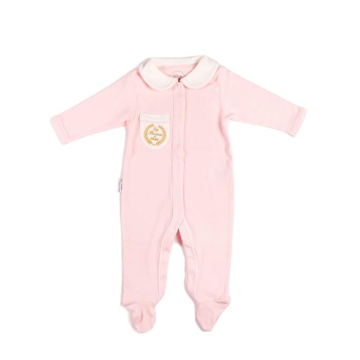 Детская одежда , Комбинезоны и полукомбинезоны Viva Baby Комбинезон для девочки Vip Persona арт: 450834 -  Комбинезоны и полукомбинезоны