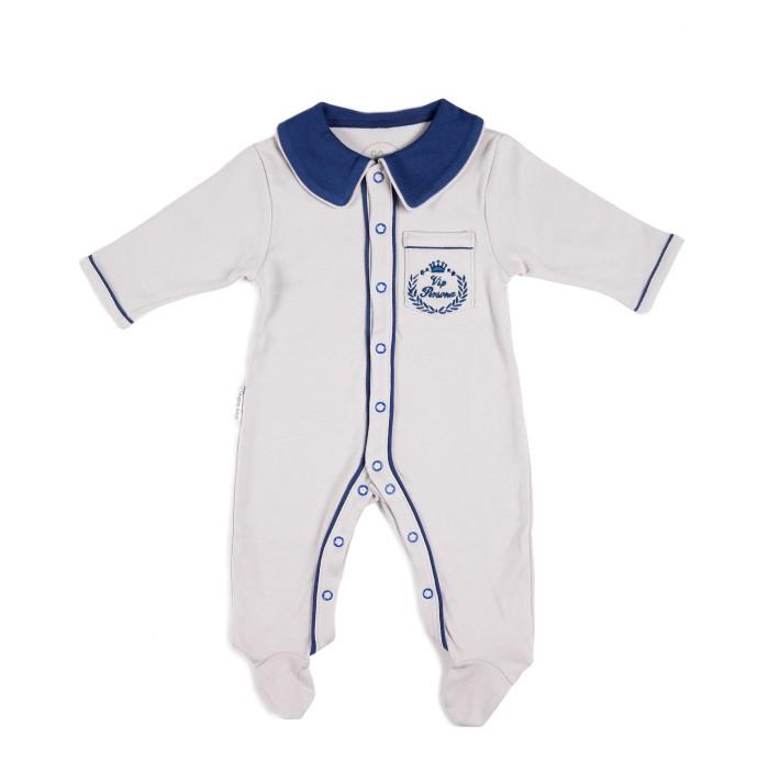 Детская одежда , Комбинезоны и полукомбинезоны Viva Baby Комбинезон для мальчика Vip Persona арт: 449364 -  Комбинезоны и полукомбинезоны
