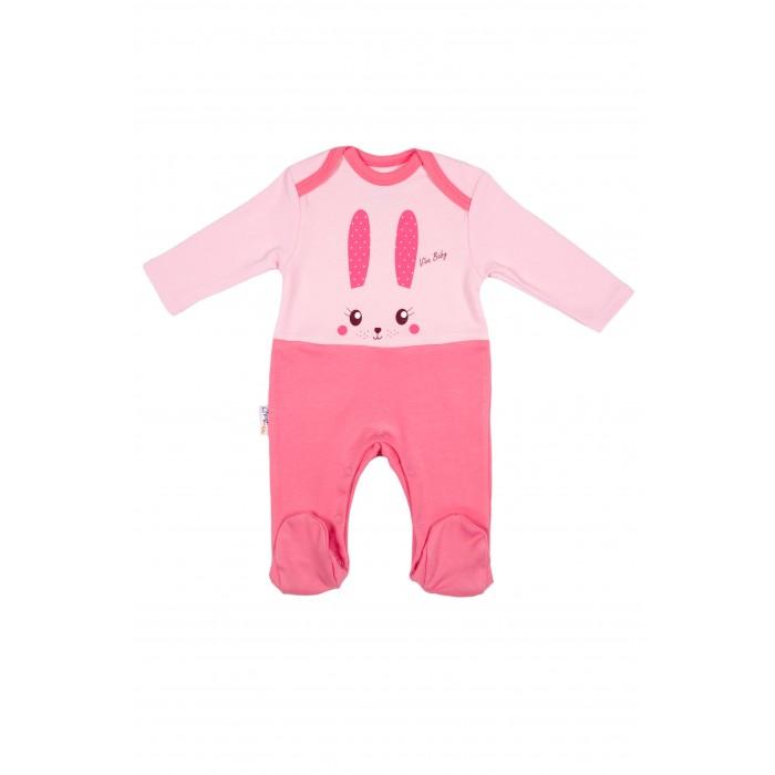Комбинезоны и полукомбинезоны Viva Baby Комбинезон Sweet Bunny комбинезоны и полукомбинезоны ябольшой комбинезон пастила 64 326 01