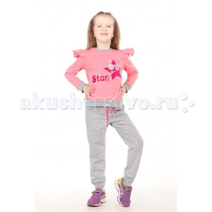 Комплекты детской одежды Viva Baby Комплект для девочки (кофта+брюки) Super Star комплекты детской одежды zeyland комплект для девочки кофта и брюки 72m2fcr76