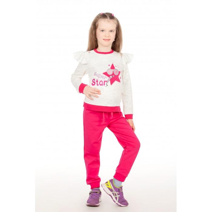 Комплекты детской одежды Viva Baby Комплект для девочки (кофта+брюки) Super Star, Комплекты детской одежды - артикул:451584