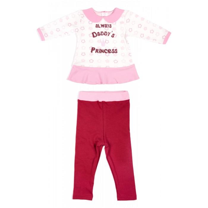 Комплекты детской одежды Viva Baby Комплект для девочки (кофточка+леггинсы) Little princess