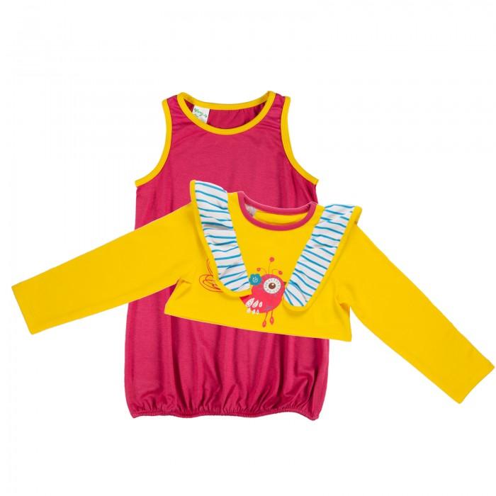 Комплекты детской одежды Viva Baby Комплект для девочки Small bird D5005