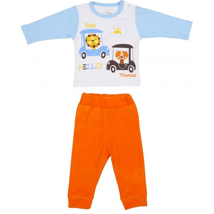 Комплекты детской одежды Viva Baby Комплект для мальчика (кофточка+брюки) Africa комплект кофточка и брюки tommy hilfiger комплект кофточка и брюки page 7