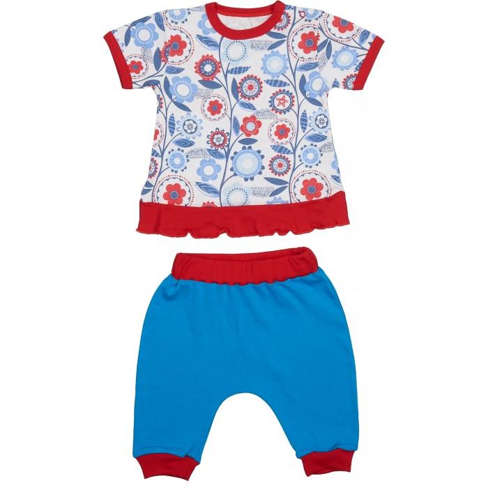 Комплекты детской одежды Viva Baby Комплект из кофточки и штанишек Magic fisc and Cat D1308-6 комплекты детской одежды viva baby комплект для девочки кофточка брюки magic fish and cat d1308 1