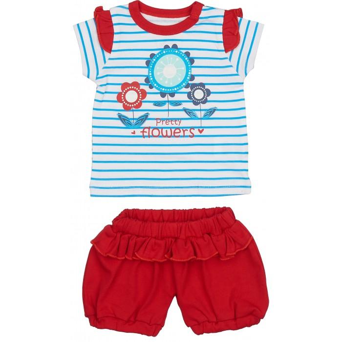 Комплекты детской одежды Viva Baby Комплект из кофточки и штанишек Magic fisc and Cat комплекты детской одежды viva baby комплект для девочки кофточка брюки magic fish and cat d1308 1