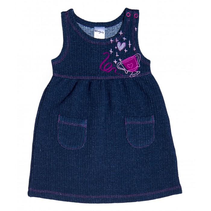 Платья и сарафаны Viva Baby Платье для девочки Champion girls