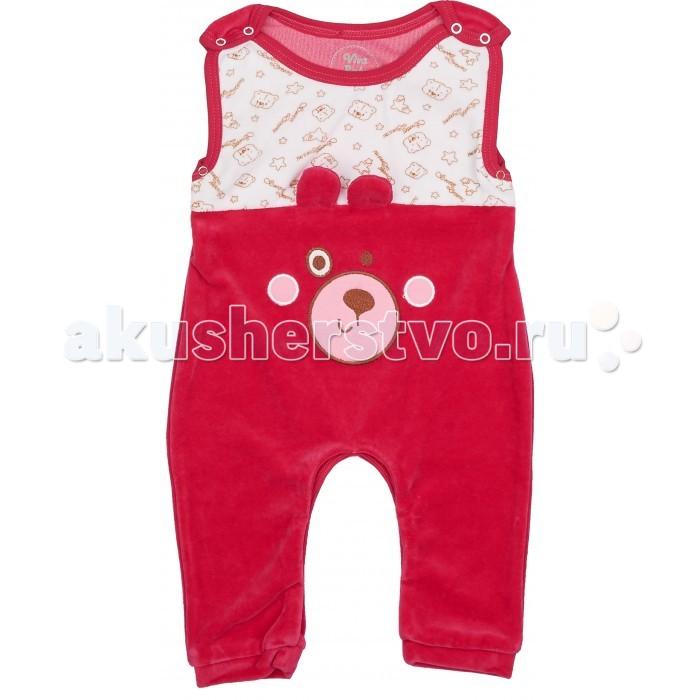 Комбинезоны и полукомбинезоны Viva Baby Полукомбинезон для девочки Little bear