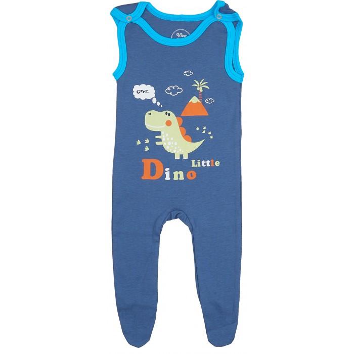 Комбинезоны и полукомбинезоны Viva Baby Полукомбинезон для мальчика Super dino комплекты детской одежды viva baby комплект для мальчика кофточка брюки super dino m1202 2