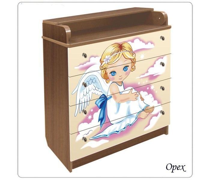 Детская мебель , Комоды Влана Ангелы (ДСП) арт: 9591 -  Комоды