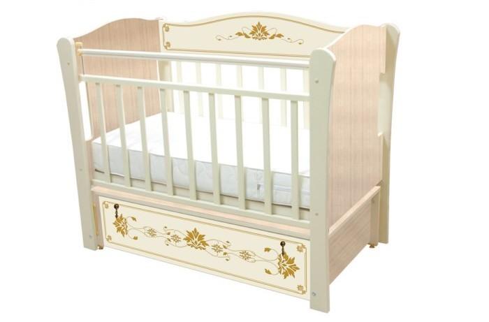Детские кроватки Влана Бьянка (продольный маятник) детская кроватка kito amore с продольным маятником