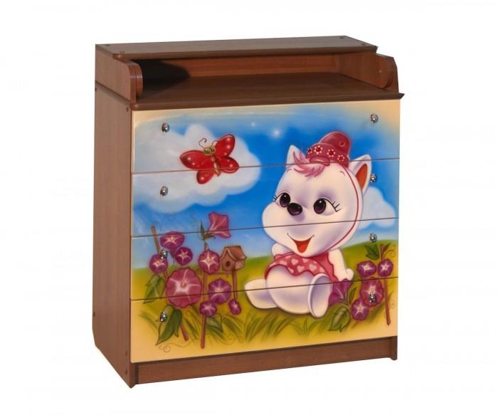 Детская мебель , Комоды Влана Китти арт: 8816 -  Комоды
