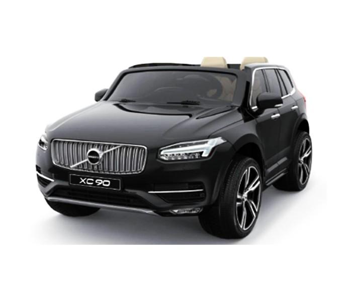 Электромобиль Volvo DK-XC1Электромобили<br>Volvo DK-XC1 - это уменьшенная копия настоящего джипа. Предназначен для детей от 2 и примерно до 8 лет.   Особенности:  Машина работает на аккумуляторе Среднее время езды в обычном режиме составляет около 1,5 часов Мощность аккумулятора позволяет преодолевать подъемы, кататься по траве, гравию, относительному бездорожью Сделают езду комфортной амортизаторы, установленные на всех четырех колесах Авто можно управлять при помощи пульта, радиус действия которого составляет 40-50 метров, однако пульт необходимо настраивать вручную, так как изначально у него нет никаких настроек Управлять авто ребенок сможет и сам из салона, нажимая на педаль Машина ездит на скорости от 3 до 7 километров в час. Производители, конечно же, позаботились о безопасности ребенка, предусмотрев пятиточечные ремни Колеса у электромобиля с шинами из EVA-полимера, поэтому даже проколы не помешают поездке Двери открываются с обеих сторон, багажник также открывается. В него можно поместить игрушки или другие необходимые вещи В салоне электромобиля есть два сиденья, обитые кожей Также присутствует встроенная панель, через которую можно подключить mp3, usb, radio, bluetooth music Непременный восторг вызовут у ребенка звуковые и световые эффекты, встроенные в автомобиль. Например, при включении зажигания детский автомобиль издает те же звуки, что и настоящий В комплекте к электромобилю идут аккумулятор и пульт.