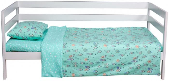 Картинка для Постельное белье 1.5-спальное Вомбатик 1.5 спальное Гномики (3 предмета)
