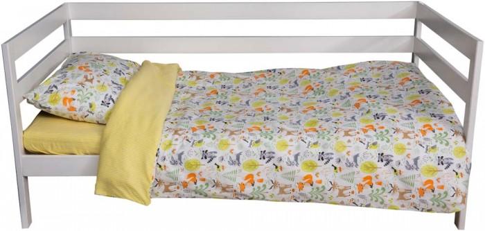 Картинка для Постельное белье 1.5-спальное Вомбатик 1.5 спальное Лесные звери (3 предмета)