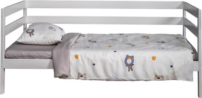Картинка для Постельное белье 1.5-спальное Вомбатик 1.5 спальное Мишки (3 предмета) Na-1103-MiB-K