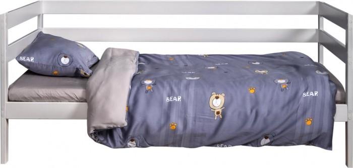 Картинка для Постельное белье 1.5-спальное Вомбатик 1.5 спальное Мишки (3 предмета) Na-1103-MiS-K
