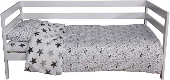 Картинка для Постельное белье 1.5-спальное Вомбатик 1.5 спальное Звери и звезды (3 предмета)
