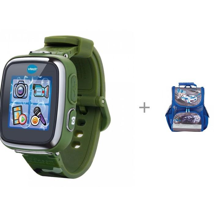 Часы Vtech Наручные Kidizoom SmartWatch DX c ранцем Tiger Family Драй фото