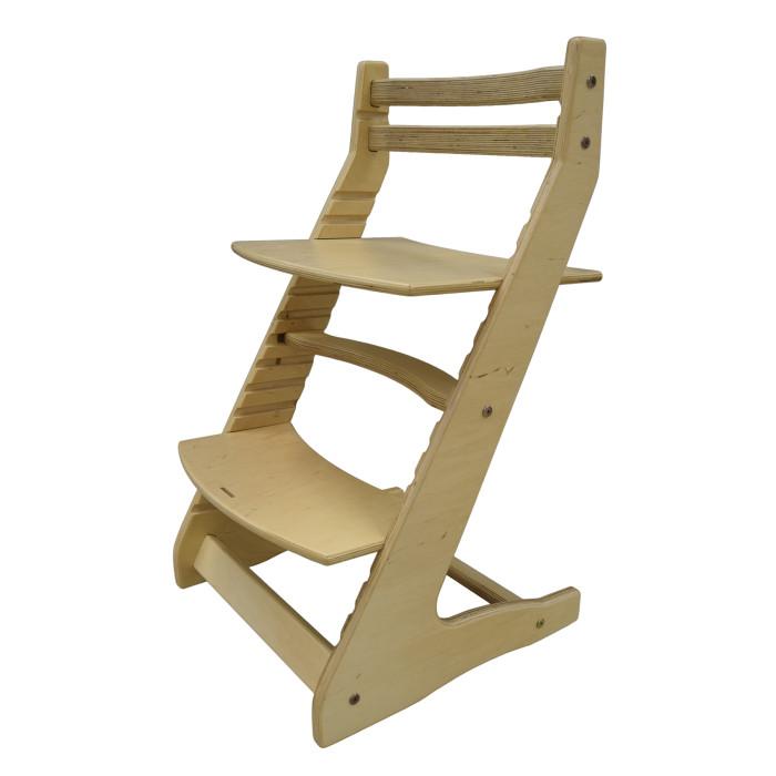 Вырастайка Детский растущий стул СДН-3 В1Детский растущий стул СДН-3 В1Вырастайка Детский растущий стул СДН-3 В1 изготовлен из высококачественной березовой фанеры и соответствует всем международным стандартам качества и безопасности.   Используется Вырастайка с обеденным, письменным и компьютерным столами. Кроме того, стул способствует ранней социализации ребенка, предоставляя ему наиболее эргономичное место рядом с другими членами семьи.  Особенности: уникальный дизайн, который соответствует всем ортопедическим требованиям и, как результат, способствует формированию правильной осанки установка сидения на необходимую высоту (14 позиций регулировки) так, чтобы локти находились на уровне поверхности стола установка на необходимую глубину, соблюдая пропорции каждого тела  устойчивость (имеет широкую базу) подставка для ног, дающая необходимую опору для ступней стул подойдет практически для всех: максимальная нагрузка 100 кг!- экологичность.       Габариты ШхГхВ: 46х50х80 см<br>
