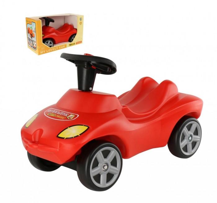 Каталка Wader автомобиль со звуковым сигналом фото
