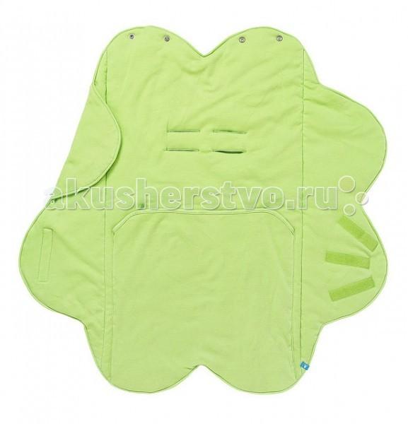 Детская одежда , Конверты-трансформеры Wallaboo Конверт Лепесток хлопок однотонный арт: 28166 -  Конверты-трансформеры