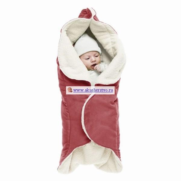Детская одежда , Конверты-трансформеры Wallaboo Конверт Лепесток плюш арт: 28169 -  Конверты-трансформеры