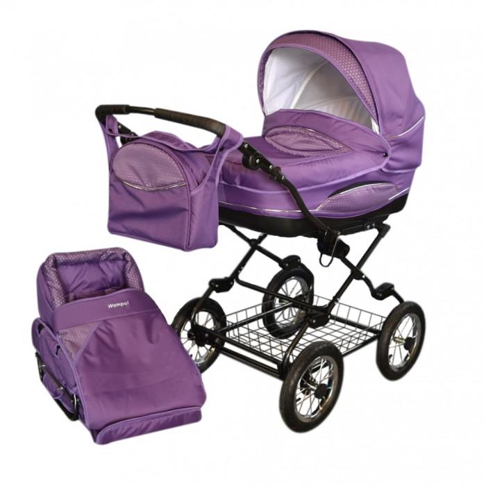 Коляска Wampol Verona 2 в 1Verona 2 в 1Коляска Wampol Verona - это элегантная классическая коляска для новорожденных, в которой малыш будет себя чувствовать защищено и комфортно.   Модель практична и многофункциональна. Коляска имеет большой складной верх, накидку от ветра и вместительную багажную металлическую сетку. Прогулочный блок для детей до трех лет устанавливается отдельно. Вместительная и комфортная люлька оборудована регулируемым наклоном спинки и может использоваться как качалка. Ее наличие позволяет использовать коляску с первых дней жизни ребенка.  Коляска обтянута водоотталкивающим материалом.  А простые в эксплуатации и надежные крепления не доставят Вам проблем при многократных изменениях конструкции. Коляска компактно складывается книжкой.  Особенности: возможность переменить положение направляющей по отношению к направлению езды регулировка высоты положения направляющей во время раскладывания коляски блокировка конструкции самозащелкивается 4-степенная регулировка положения спинки сидения складной капюшон два поручня в полном составе для глубокого зимнего (большие с защитном фартуком) и прогулочного (маленькое безопасности) вариантов сидение с пятиточечным ремнем безопасности автоматическая блокировка механизма регулировки подножка.<br>