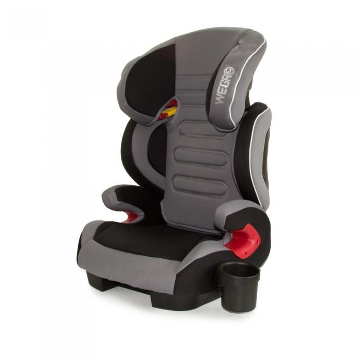 Автокресло Wegro Nextus WE03Nextus WE03Автокресло Wegro Nextus WE03 легкая и удобная модель возрастной группы 2/3, которая обеспечит не только безопасность, но и комфорт в автомобильном путешествии детям весом от 15 до 36 кг.   Кресло изготовлено согласно европейскому стандарту безопасности ECE R44/04, и фиксируется на сиденье с помощью системы Isofix. Если же автомобиль не поддерживает ее, возможно крепление обычным штатным автомобильным трехточечным ремнем безопасности.   Автокресло Nextus WE03 от Wegro имеет целых ряд «продвинутых» особенностей, которые резко выделяют его из своей ценовой категории. Это регулировка наклона сиденья, причем не только спинки, а всей чаши автокресла. Это позволяет создать удобное место для отдыха в дальней поездке и одновременно не снизить уровень безопасности. Фиксаторы ремня безопасности помогут установить автокресло без ошибок.  У Wegro Nextus WE03 отлично продумана боковая защита. Мягкий подголовник поглощает энергию удара, а боковины в области плеч регулируются по ширине. Регулируется и высота спинки, так что кресло «растет» вместе с маленьким пассажиром. Сиденье достаточно широкое – 30 см, так что и подросшему ребенку в кресле будет удобно. Еще одна важная деталь – это съемный подстаканник, который можно установить слева или справа.  А родители оценят небольшой вес автокресла, который позволяет легко переносить его из одного автомобиля в другой или убирать его в багажник, когда малыш не едет с вами.  Особенности:  Возрастная группа: 2/3 (15-36 кг). Способ крепления в автомобиле: Isofix/трёхточечный штатный ремень. Способ установки в автомобиле: по ходу движения. Ремни безопасности: штатный автомобильный ремень. Регулировка наклона спинки: да. Регулировка высоты подголовника: да, 57-73 см. Мягкий подголовник: да. Регулировка кресла по ширине: да, в области плеч. Защита от боковых ударов: да. Наличие базы: нет. Возможность снять и постирать покрытие: да. Стандарт ECE R44/04: да. Ширина сиденья: 30 см. Размеры: 43 х 44 х 65 см. Ве
