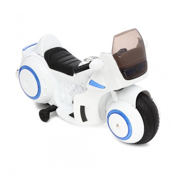 Электромобиль Weikesi Мотоцикл TC-1188Электромобили<br>Weikesi Мотоцикл TC-1188  Необычный дизайн привлечет внимание ребенка к данному мотоциклу. Сделан с прочного пластика. Амортизация, мягкая езда. Для одного ребенка. Скорость 2-7км/ч. Аккумулятор 12V/7Ah. 2 мотора 35W. Рычаг движения вперед-назад, есть кнопки звуковых эффектов, и есть световые эффекты фар. Максимальная нагрузка - 30 кг, подойдет детям в возрасте от 3 до 8 лет.  Особенности: Количество детей для одного Возраст ребенка от 3 лет Максимальная скорость, км/час 2.5 Вид мотоцикл Питание на аккумуляторе