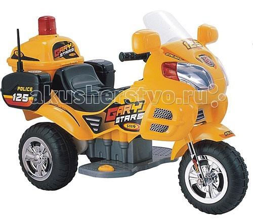 Электромобиль Weikesi ZP5119ZP5119Электромобиль Weikesi ZP5119 станет первым транспортным средством малыша. Мотоцикл можно использовать дома и на улице. Ребенок с удовольствием будет кататься на безопасной скорости.   Особенности: Мотоцикл Weikesi будет способствовать развитию внимания у ребенка.  Вы можете не беспокоится за своего малыша, когда он находится за рулем, потому что электромобиль Weikesi изготовлен из крепкого пластика, а его максимальная скорость не более 3 км/ч.  Колеса сделаны из износостойкой резины, что позволяет ездить по любым поверхностям окружающей среды, не остерегаясь повреждения колес.  Водитель успеет насладиться поездкой в полной мере до разрядки аккумулятора (1,5-2 часа).  Полная зарядка аккумулятора осуществляется в течение 12-14 часов, первые пять раз желательно полностью разрядить аккумулятор и заряжать в течении 24 часов! Музыкальная панель  Световые эффекты Максимальная скорость 3 км/ч Максимальная загрузка 40 кг<br>