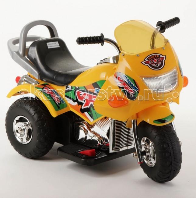 Электромобиль Weikesi ZP9991BZP9991BЭлектромобиль Weikesi ZP9991B станет первым транспортным средством малыша. Это хороший подарок как для мальчика, так и для девочки. Мотоцикл можно использовать дома и на улице. Ребенок с удовольствием будет кататься на безопасной скорости.   Особенности: Мотоцикл Weikesi будет способствовать развитию внимания у ребенка.  Вы можете не беспокоится за своего малыша, когда он находится за рулем, потому что электромобиль Weikesi изготовлен из крепкого пластика, а его максимальная скорость не более 3 км/ч.  Колеса сделаны из износостойкой резины, что позволяет ездить по любым поверхностям окружающей среды, не остерегаясь повреждения колес.  Водитель успеет насладиться поездкой в полной мере до разрядки аккумулятора (1,5-2 часа).  Полная зарядка аккумулятора осуществляется в течение 12-14 часов, первые пять раз желательно полностью разрядить аккумулятор и заряжать в течении 24 часов! Звуковой сигнал Максимальная скорость 3 км/ч Максимальная загрузка 20 кг<br>