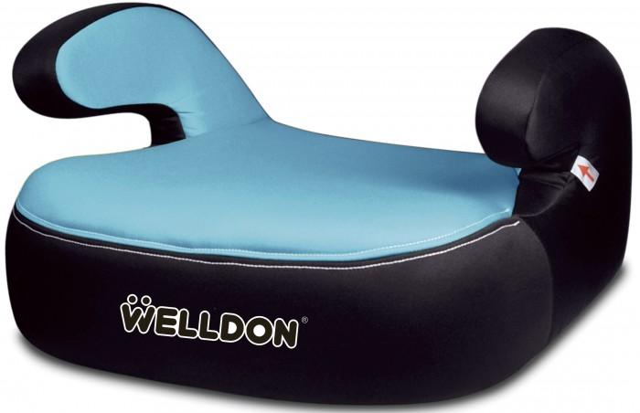 Бустер Welldon PG05-CPG05-CАвтокресло Welldon PG05-C2 - рекомендовано для перевозки детей в возрасте от 4-х до 12 лет, весовой категории от 15 до 36 кг.   Устанавливается с помощью штатных ремней безопасности, по направлению движения автомобиля на задней сидении, либо на переднем при условии отключения подушки безопасности.  Каркас выполнен из ударопрочного пластика, обеспечивающий надежность и безопасность, а также долговечность изделию.  А мягкая обивка и удобные подлокотники создадут комфорт в течении всей поездки. Обивка выполнена из качественных, гипоаллергенных материалов, съемная, подлежит чистке и стирке при деликатном режиме.  Каркас из ударопрочного пластика Верхняя обивка - синтетический гипоаллергенный материал, напонимает перфорированную замшу (мягкая и прочная ткань, легко чистить, не впитывает влагу и не воспламеняется, съемная) Высокие комфортные подлокотники Мягкое сидение из вспененного материала Размеры (Д*Ш*В) - 40 см * 50 см * 20 см; Индивидуальная упаковка – полиэтиленовый пакет;<br>