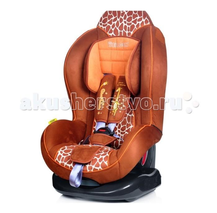 Автокресло Welldon TitatTitatАвтокресло детское Welldon Titat-это комфортное и безопасное автокресло для детей в возрасте от 9 месяцев до 4 лет. У автокресла большой подголовник, который защищает шею и голову ребенка. Автокресло устанавливается с помощью штатных ремней безопасности по ходу движения. Ребенок фиксируется в автокресле с помощью пятиточечного ремня безопасности, высота которого может быть отрегулирована. У автокресла Welldon Titat 5 положений наклона спинки, что позволит разместиться ребенку наиболее комфортным способом. Автокресло изготовлено из гипоаллергенных материалов, которые обладают дышащими свойствами.  Особенности: соответствует Европейскому стандарту безопасности ECE R 44/04, удобная спинка, обеспечивающая правильную осанку и высокую степень защиты маленького пассажира, 5 положений наклона кресла, регулируемые по высоте 5-точечные ремни (4 положения), регулируемый по высоте подголовник (мягкая подушечка), вентилируемая спинка, съёмный моющийся чехол с мягкой подкладкой, автокресло устанавливается по ходу движения автомобиля, возможность установки на заднем и переднем сидении автомобиля при отсутствии  подушки безопасности, крепление штатным ремнем безопасности автомобиля<br>