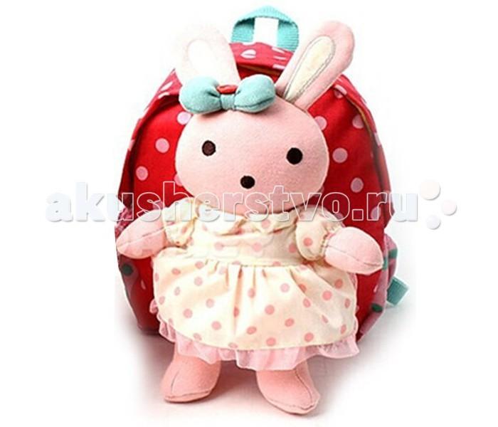 Winghouse Рюкзак детский с игрушкой и поводком ЗаинькаРюкзак детский с игрушкой и поводком ЗаинькаWinghouse Рюкзак детский с игрушкой и поводком Заинька  Наши рюкзаки Winghouse с ремешками безопасности многофункциональны, сделаны из нетоксичных материалов и ограждают маму от беспокойства за безопасность своего малыша.  Этот удобный рюкзачок позволяет держать вещи Вашего ребенка всегда под рукой, ремешок безопасности дает возможность удобно контролировать дистанцию с малышом, а съемные куклы делают его еще и практичным.  Наши преимущества: 100% хлопок. Прочность и простота в уходе. Съемная кукла. Комбинация рюкзака с куклой делает этот рюкзак особенно интересным для ребенка Ремешок безопасности. Ремешок для контроля дистанции с ребенком  Дышащая ткань. Воздухопроницаемая сетка на задней панели рюкзака делает ношение рюкзака еще более комфортным.  Размер: 19 х 22 х 9 см Возраст: от 2 лет<br>