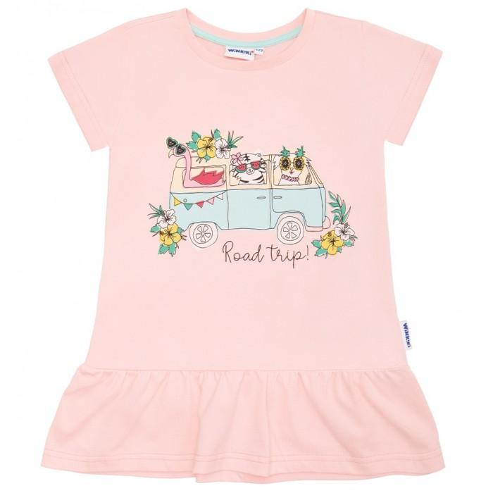футболки и топы Футболки и топы Winkiki Футболка для девочки WKG01713