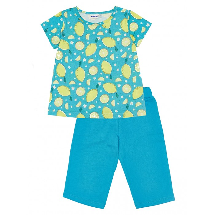 Winkiki Пижама для девочки (футболка, шорты) WKG91166