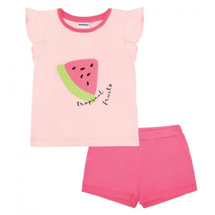 Купить Домашняя одежда, Winkiki Пижама для девочки (топ, шорты) WKG01719